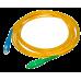 Патч-корд оптический SC/apc — SC/upc, 1 м  (длина - под заказ)