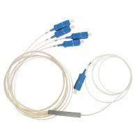 PLC Splitter 1x4 SC/UPC 900 um, 1500 mm  - делитель планарный