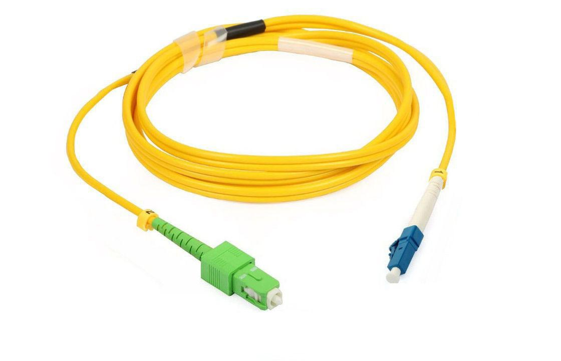 Патч-корд оптический SC/apc - LC/upc, 1 м (длина - под заказ) .